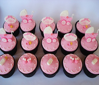 Baby Shower Cupcakes   Home